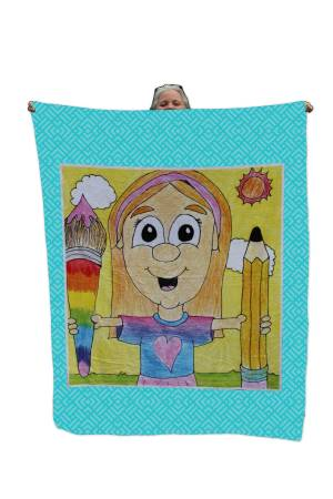 Picture of Minky Throw Blanket